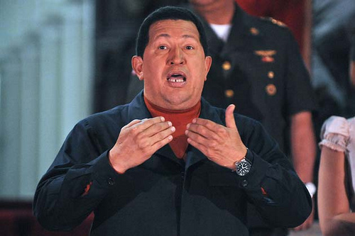 hugo chavez vs palmer