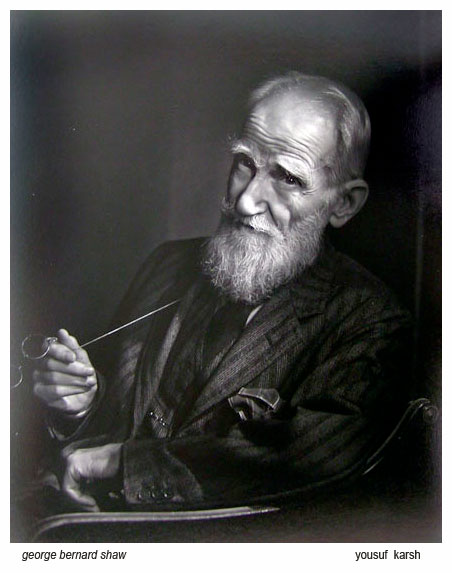 george-bernard-shaw-by-yousuf-karsh
