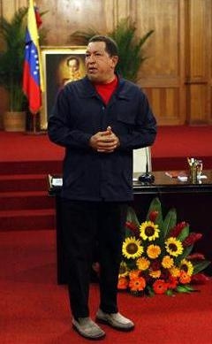 hugo chavez y los zapaticos