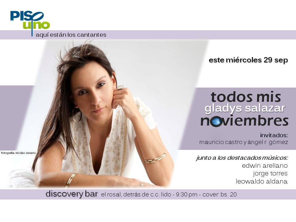 flyer-gladys-salazar-piso1-discovery-bar-29sep