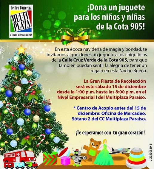 Invitan Multiplaza La 905 Los Cota A Cc Juguete Donar Un Niños De xeCBrdo