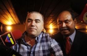 Antes De Que Empezara La 11 Audiencia Oral En El Juicio Su Contra Makled Pudo Conversar Con Algunos Periodistas A Quienes Les Relat Sobre Drogas