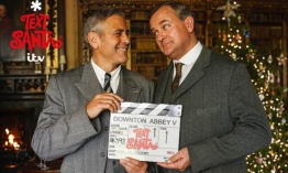 Primer vistazo a George Clooney en 'Downton Abbey'