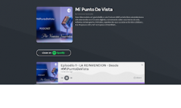 Episodio 1 - LA REINVENCION - Desde #MiPuntoDeVista PODCAST
