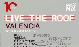 [Noticia] Full, Sienna, David Otero, Carmen Boza y David Rees conforman el cartel del Live The Roof Valencia 2020